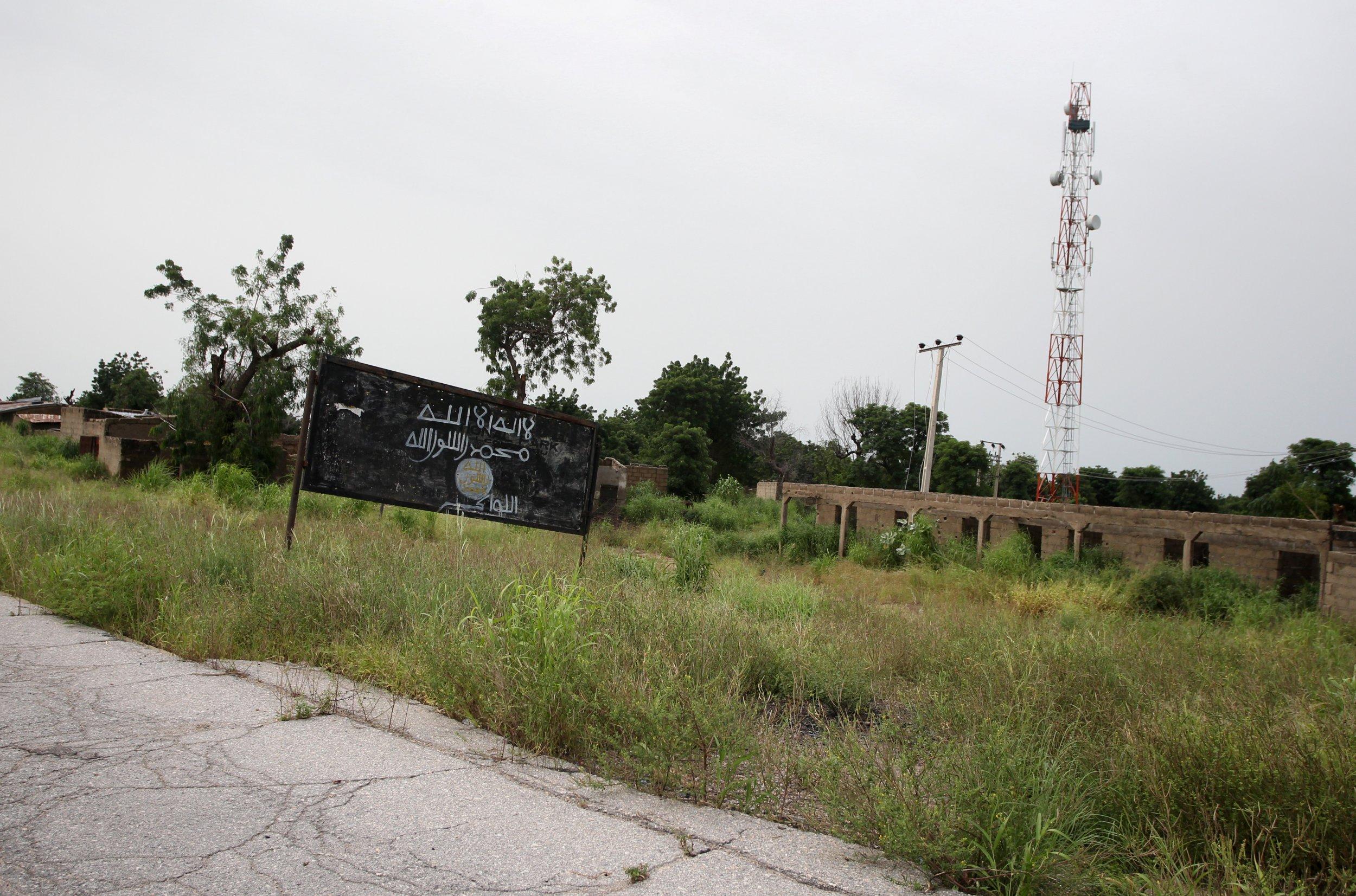 Boko Haram sign