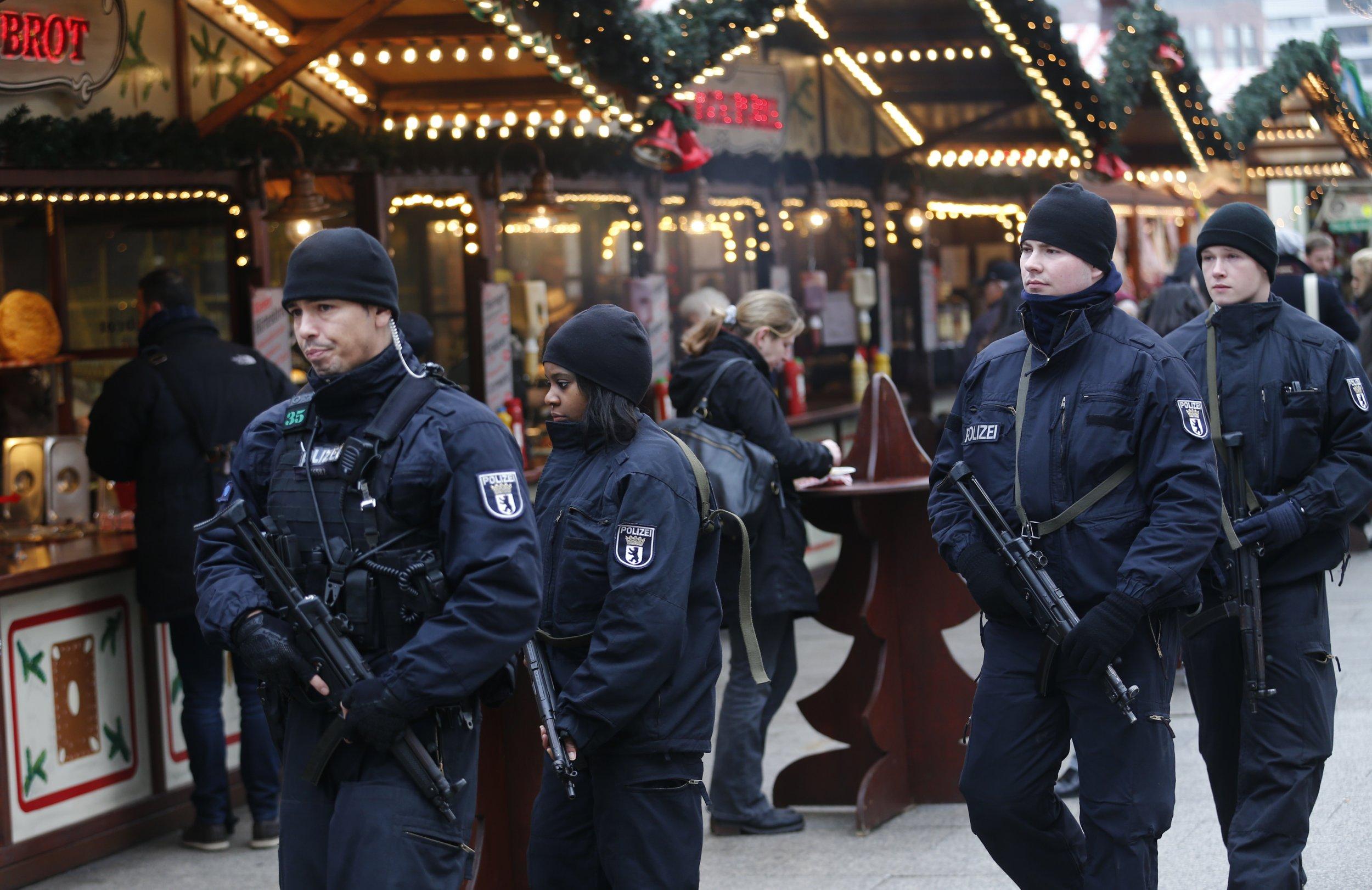Berlin Christmas Market Attack Police