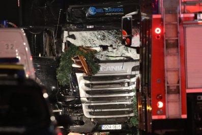Berlin attack truck
