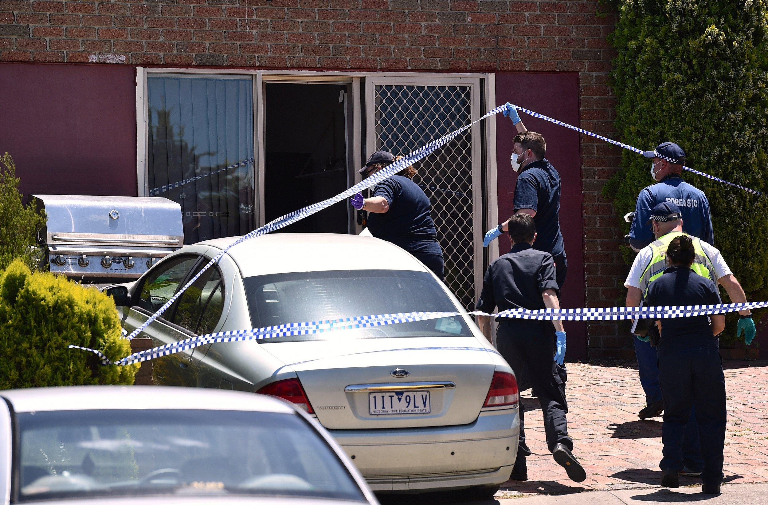 Melbourne arrest