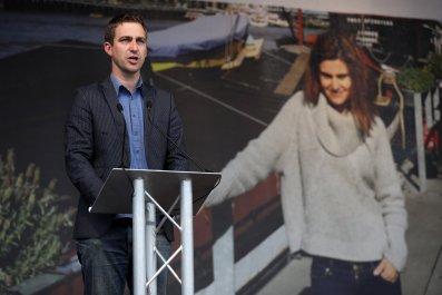 Brendan Cox, husband of murdered MP Jo Cox