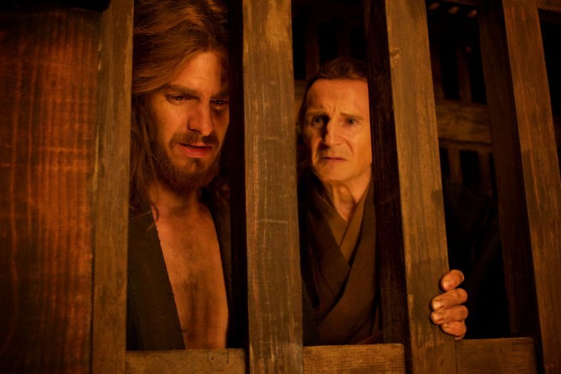 Silence - Liam Neeson and Andrew Garfield