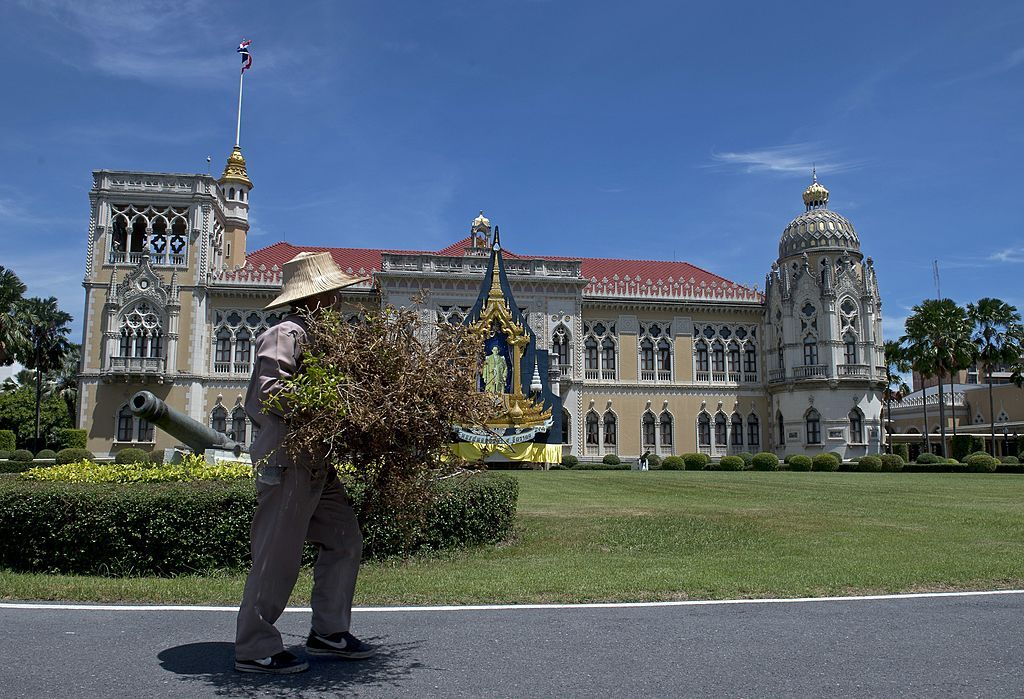 Thailand Government House building in Bangkok