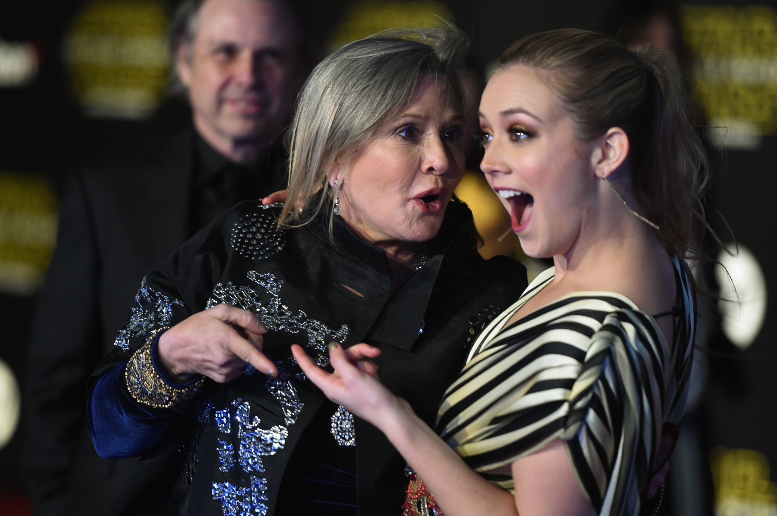 billie catherine lourd carrie fisher