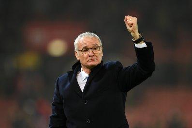 Leicester City manager Claudio Ranieri.