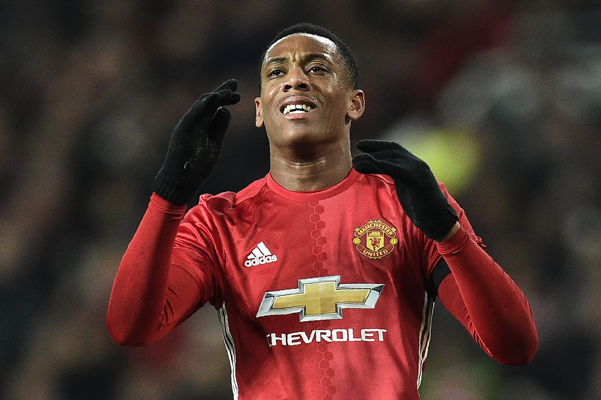 Manchester United striker Anthony Martial.
