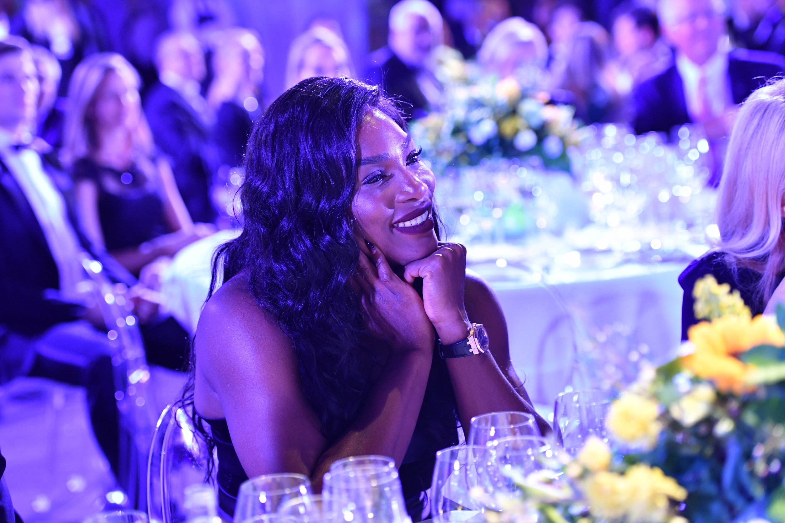 Tennis professional Serena Williams.