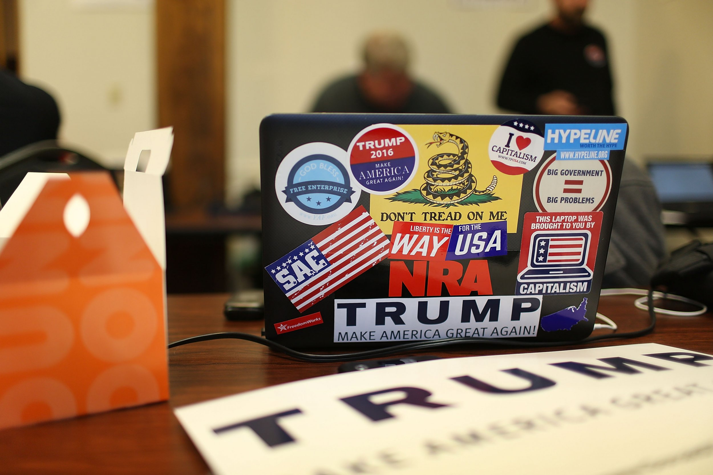"Donald Trump: ""No Computer Is Safe"" so Send Information by Courier"