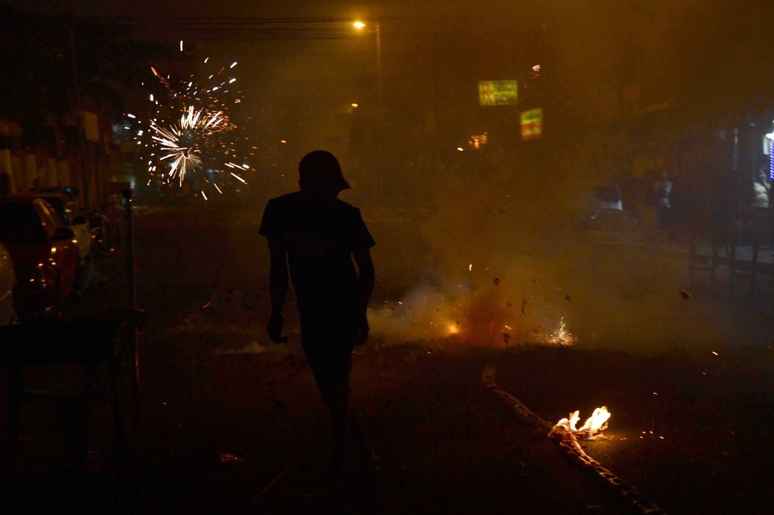 Philippine fireworks