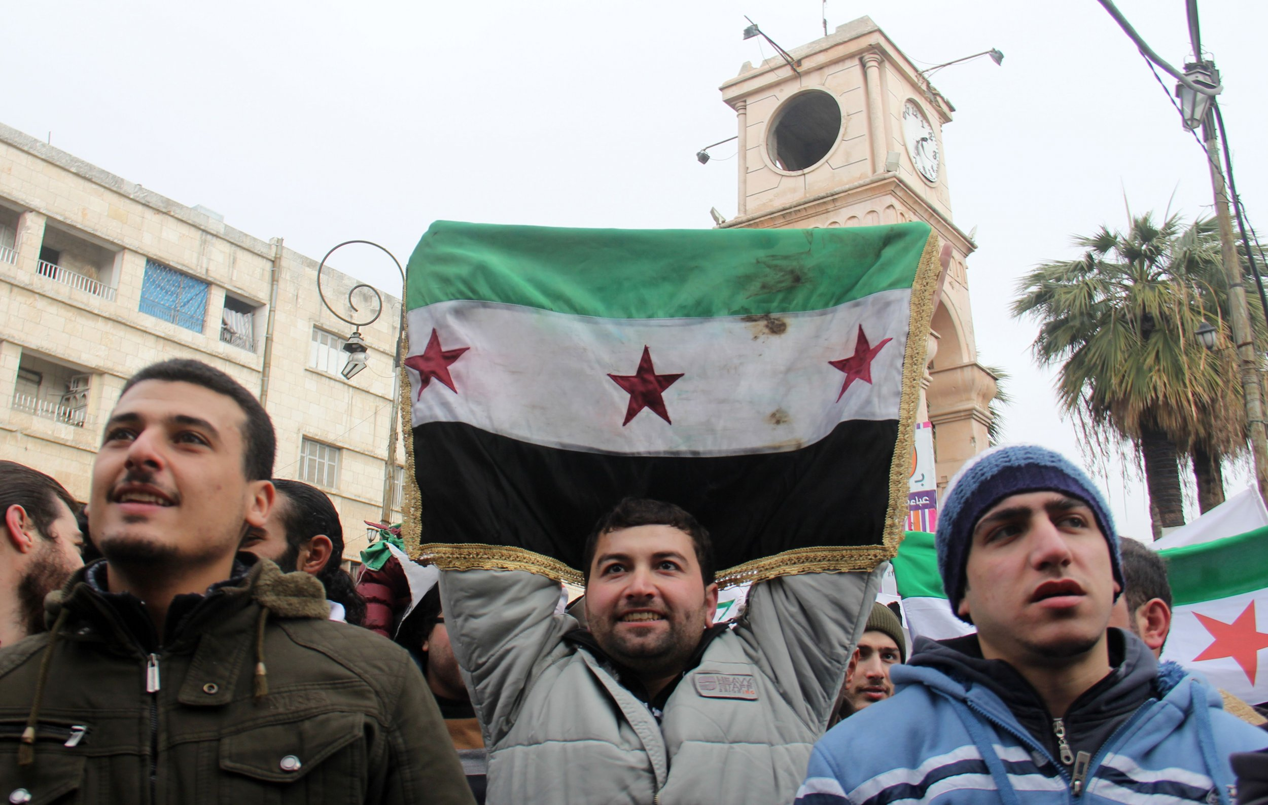 Syrian rebel protester
