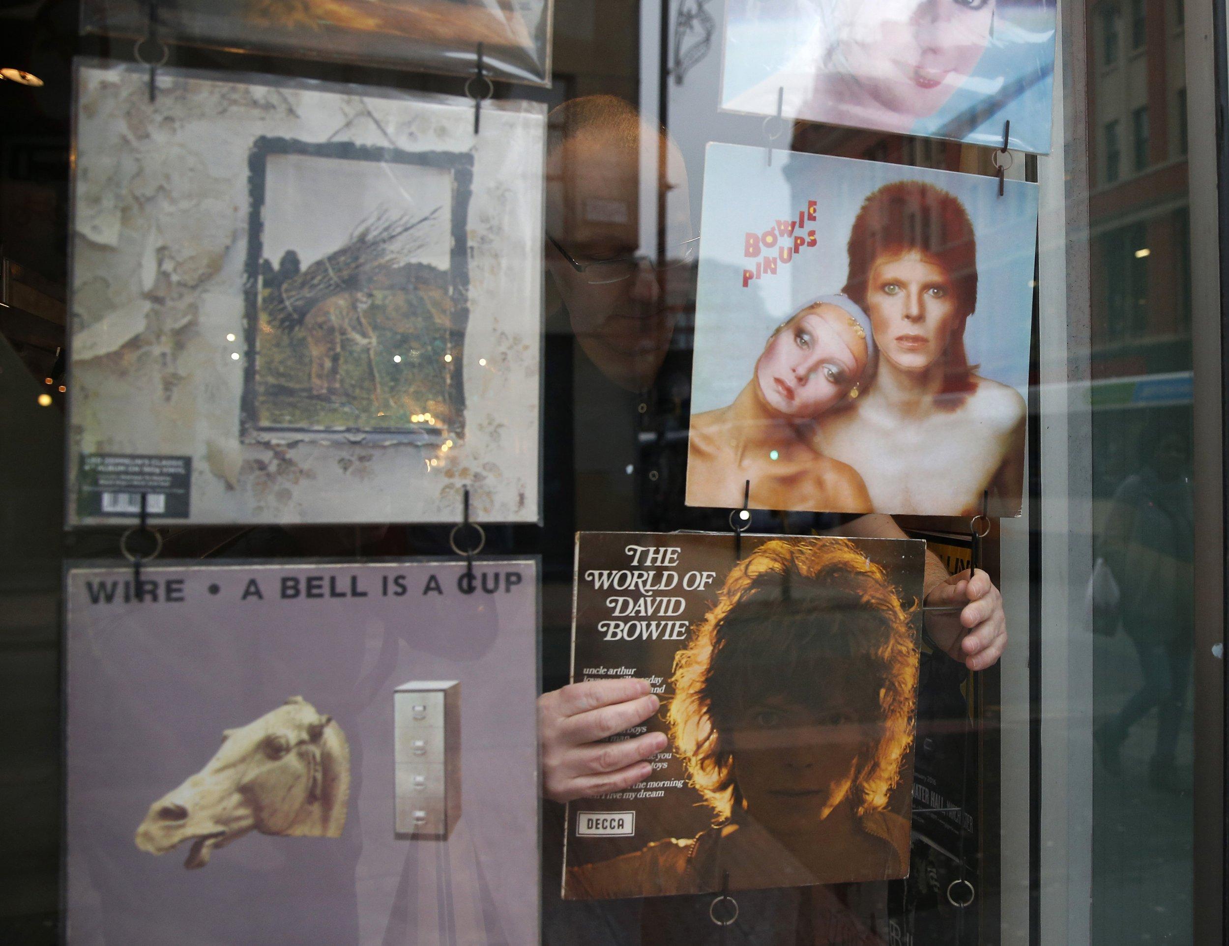 David Bowie vinyl records
