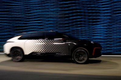 faraday future fastest electric car