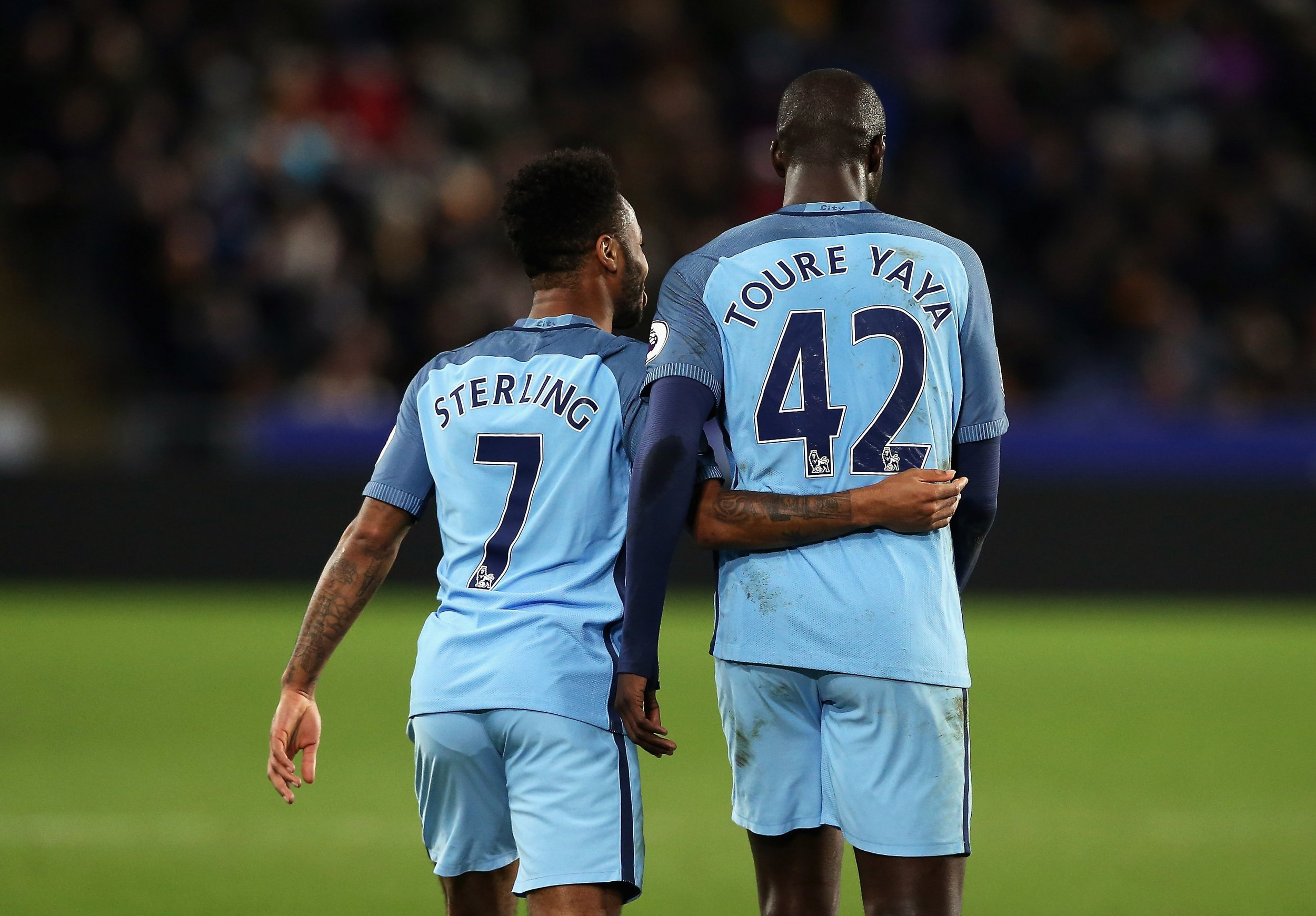 Sterling and Toure