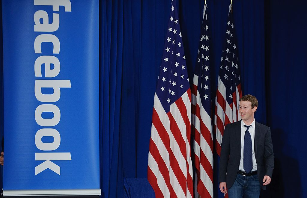 Mark Zuckerberg president 2020 facebook