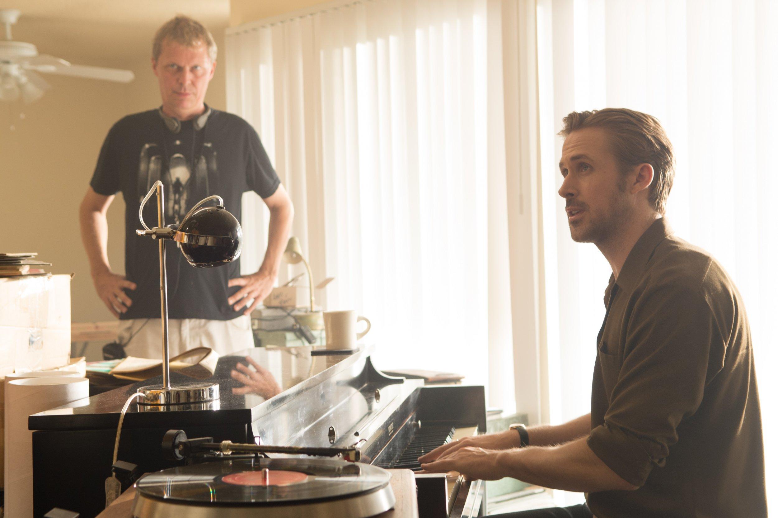 Marius De Vries and Ryan Gosling on La La Land