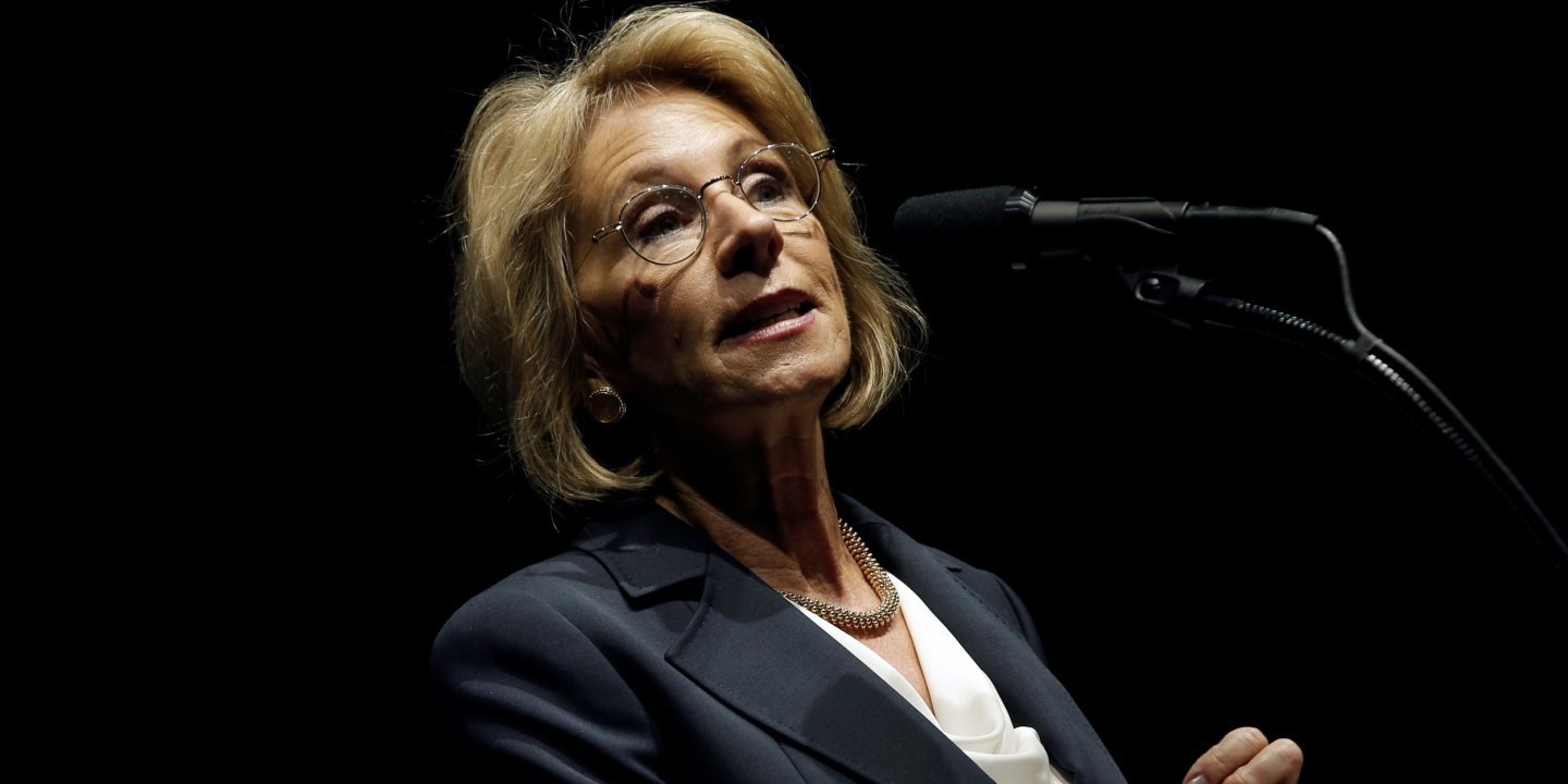 Trumps Education Secretary Pick Led >> Betsy Devos Is Coming For Your Public Schools