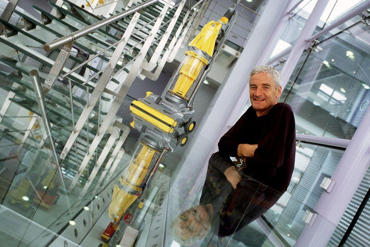 How James Dyson Revolutionized The Vacuum