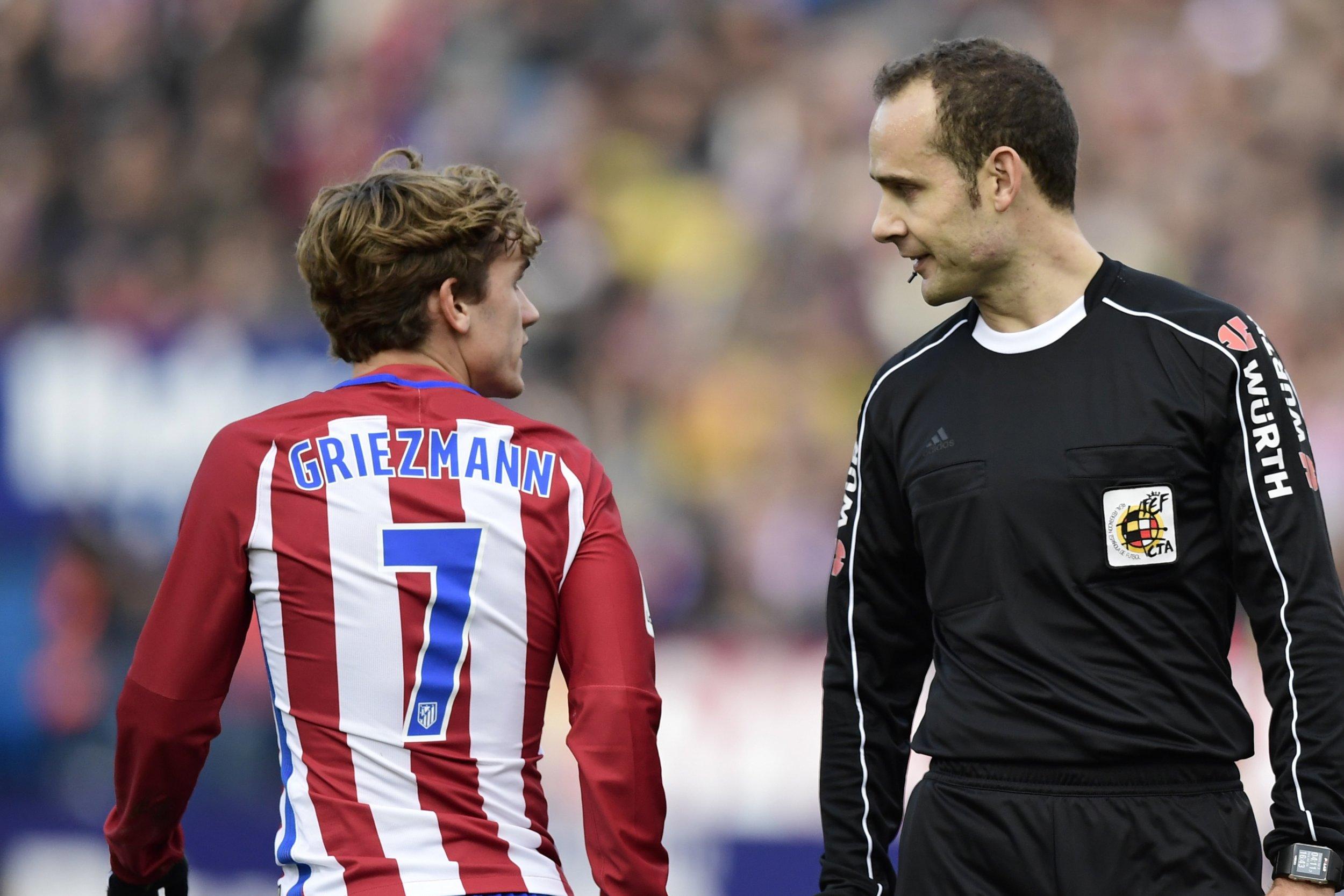 Atletico Madrid striker Antoine Griezmann
