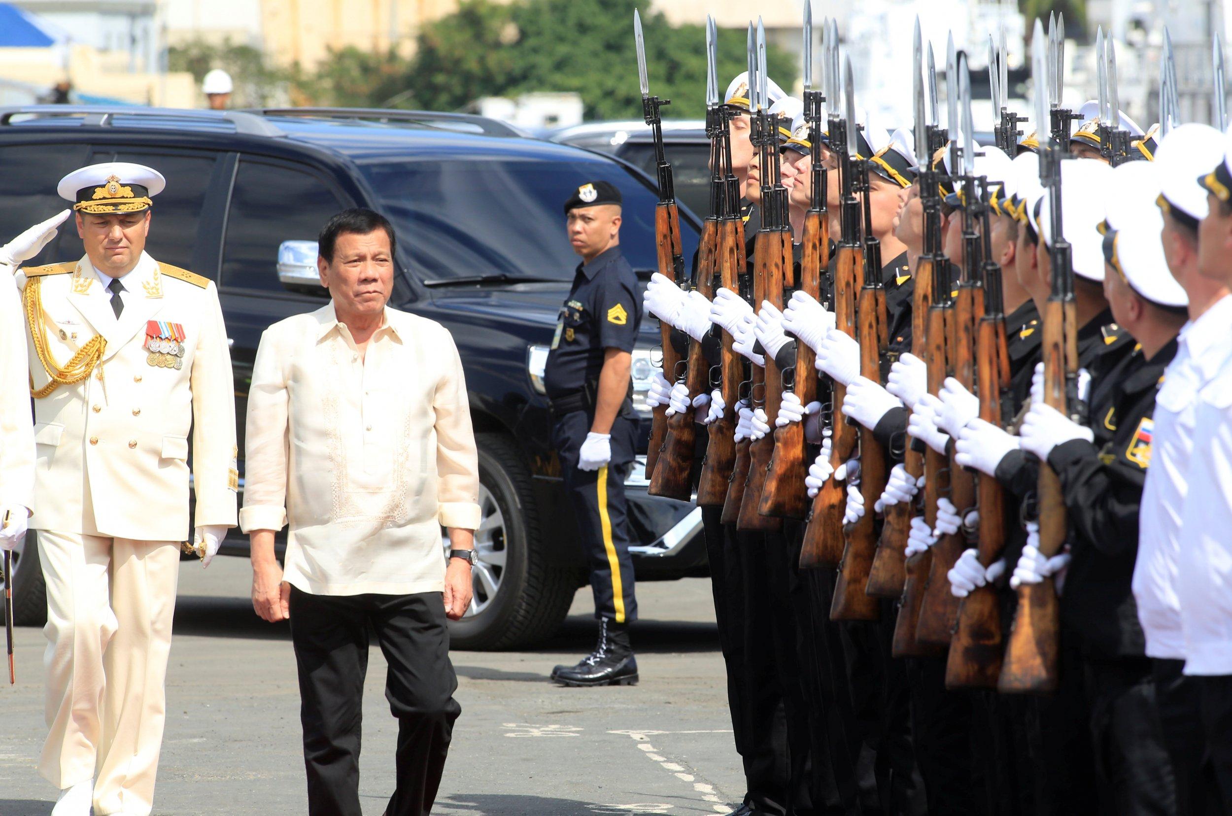 Duterte Russian Navy