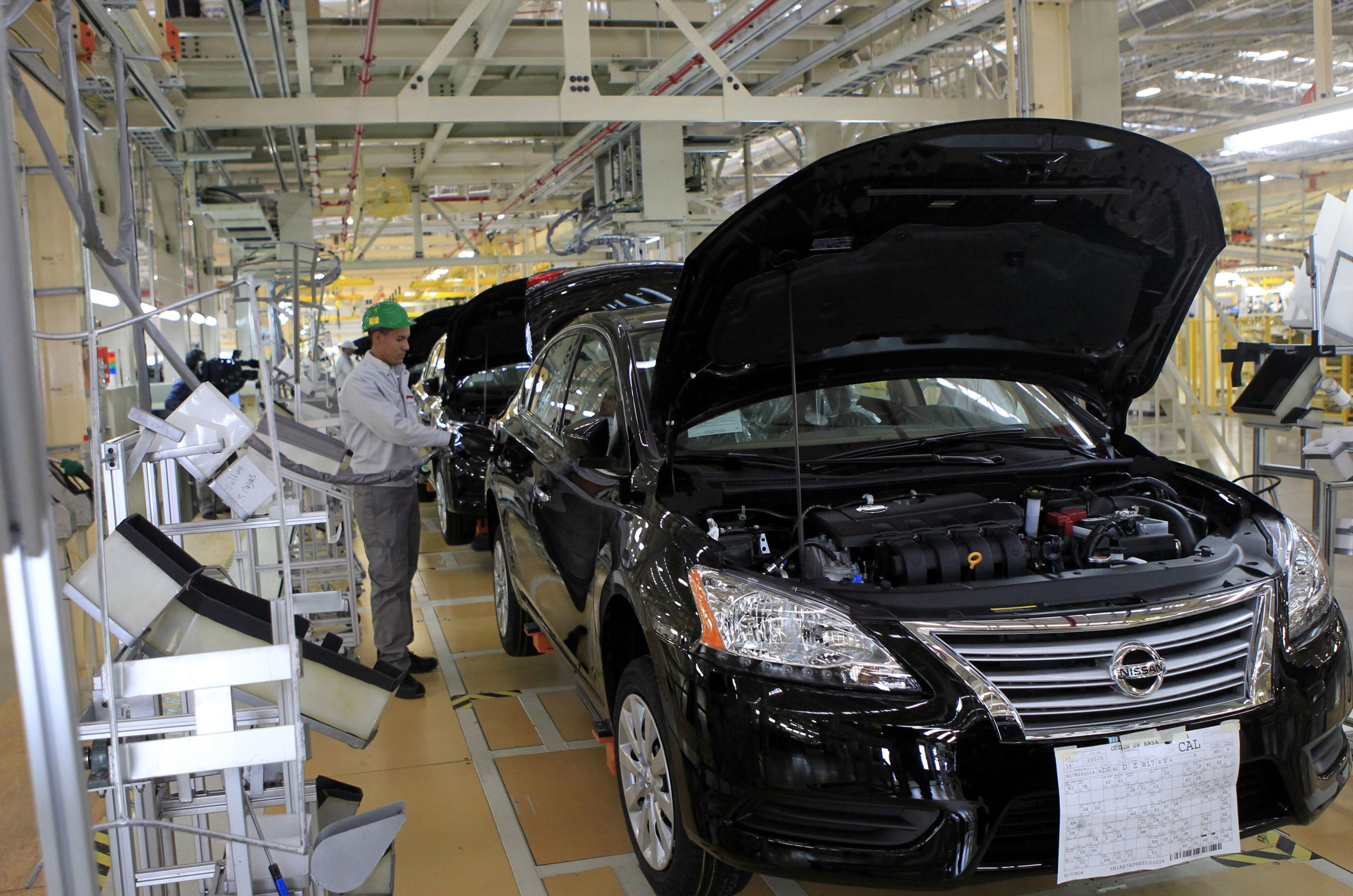 Nissan plant Mexico