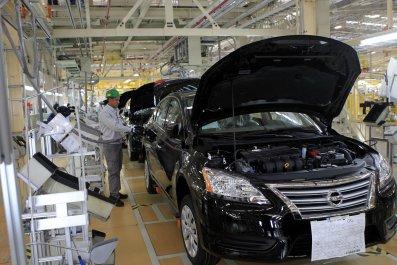 Nissan plant Mexico