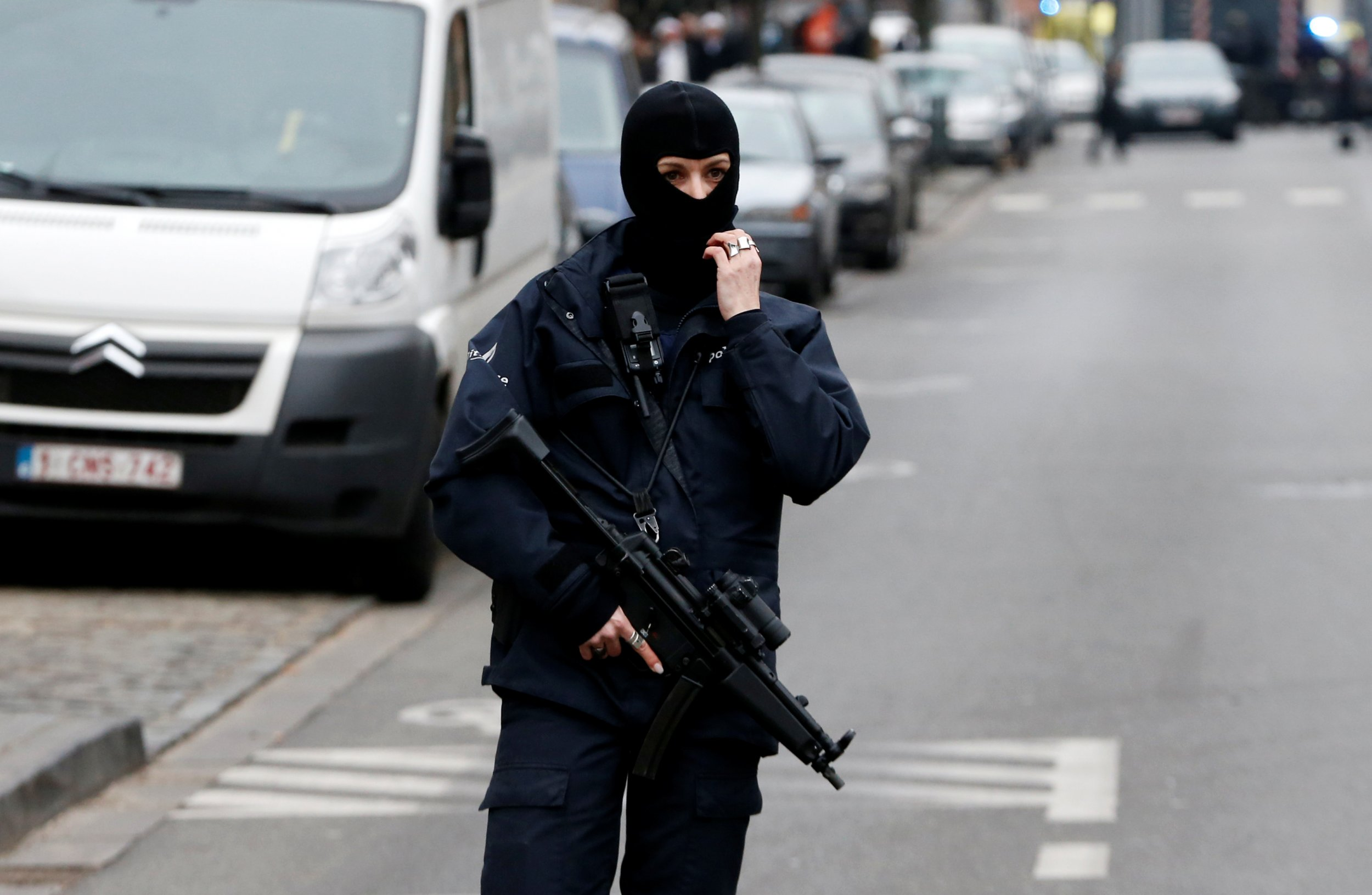 Brussels police officer