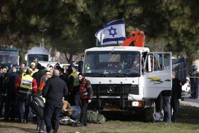 Israel truck attack