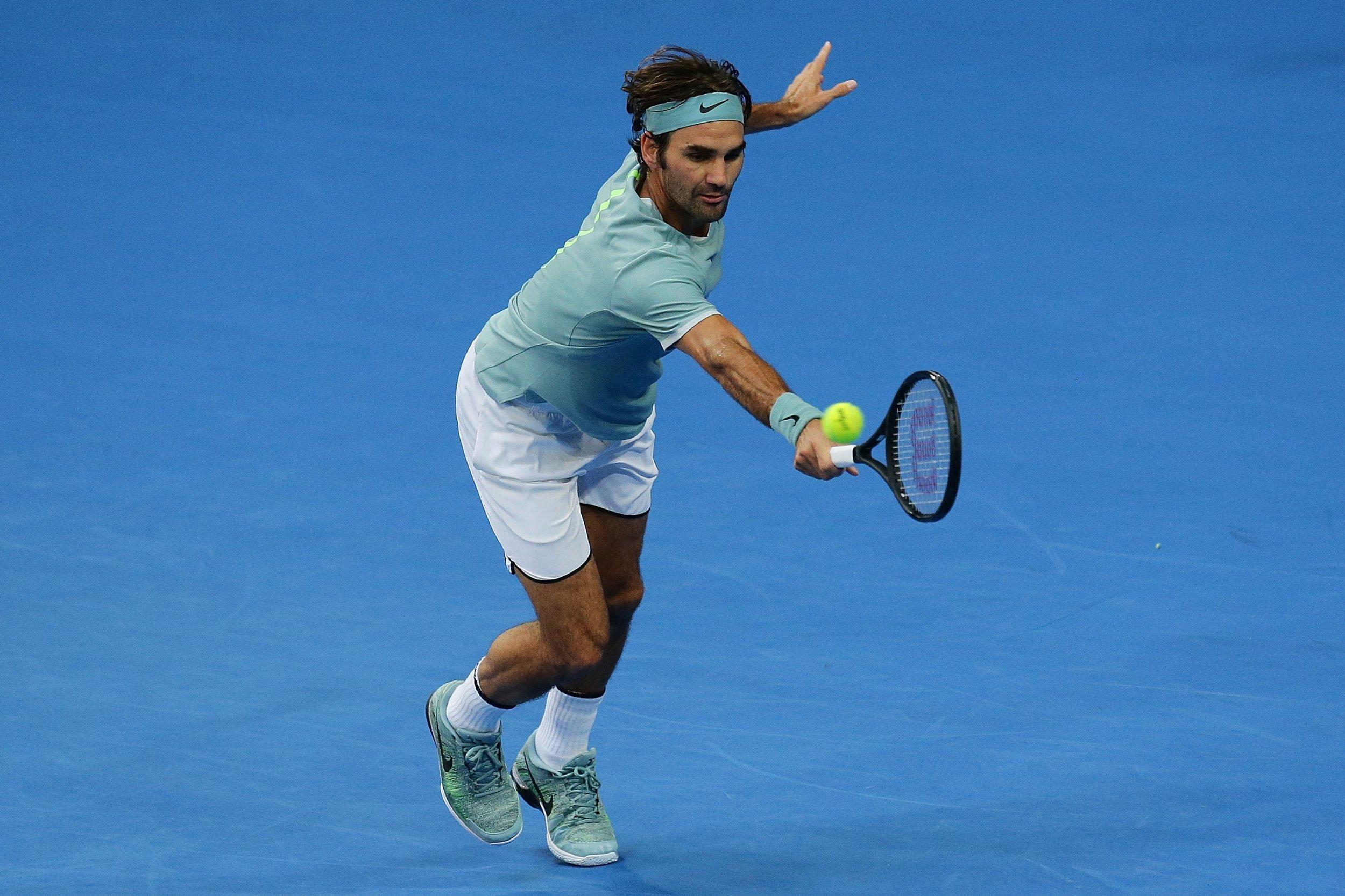Former world number one Roger Federer.