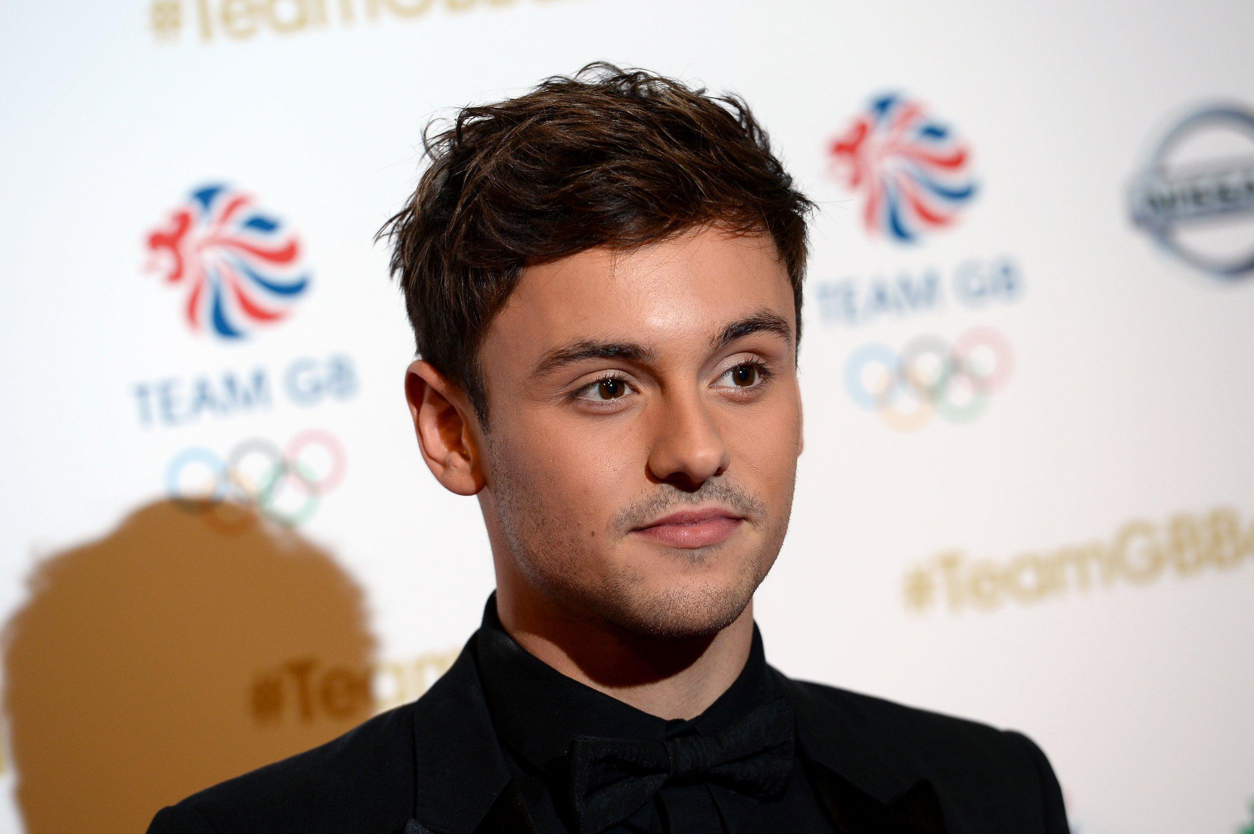 British Olympian Tom Daley