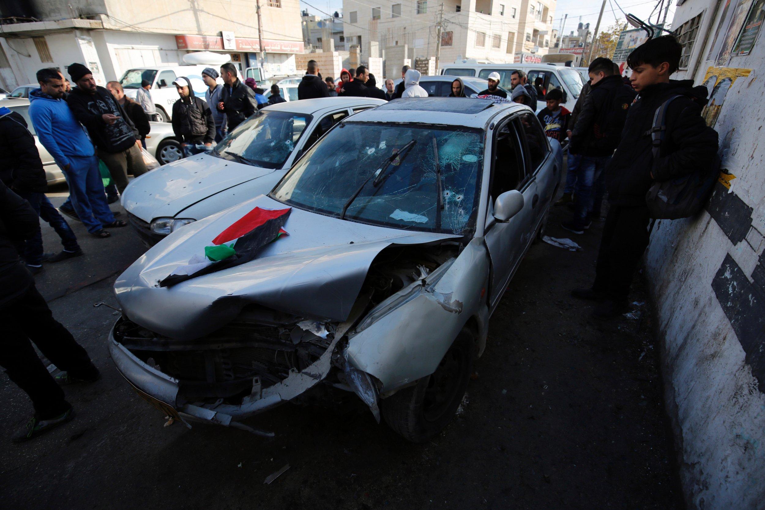 Israel car-ramming attack