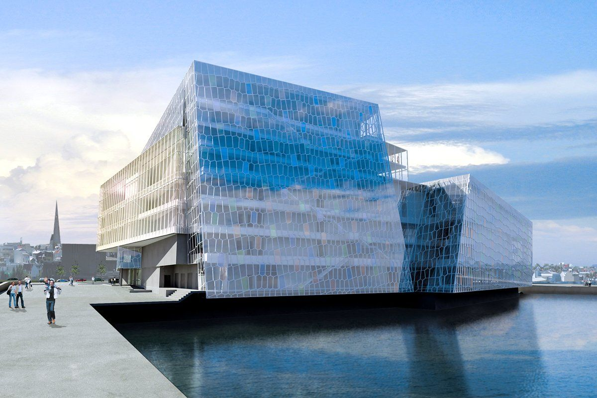 The Stunning Architecture Of Iceland S Harpa