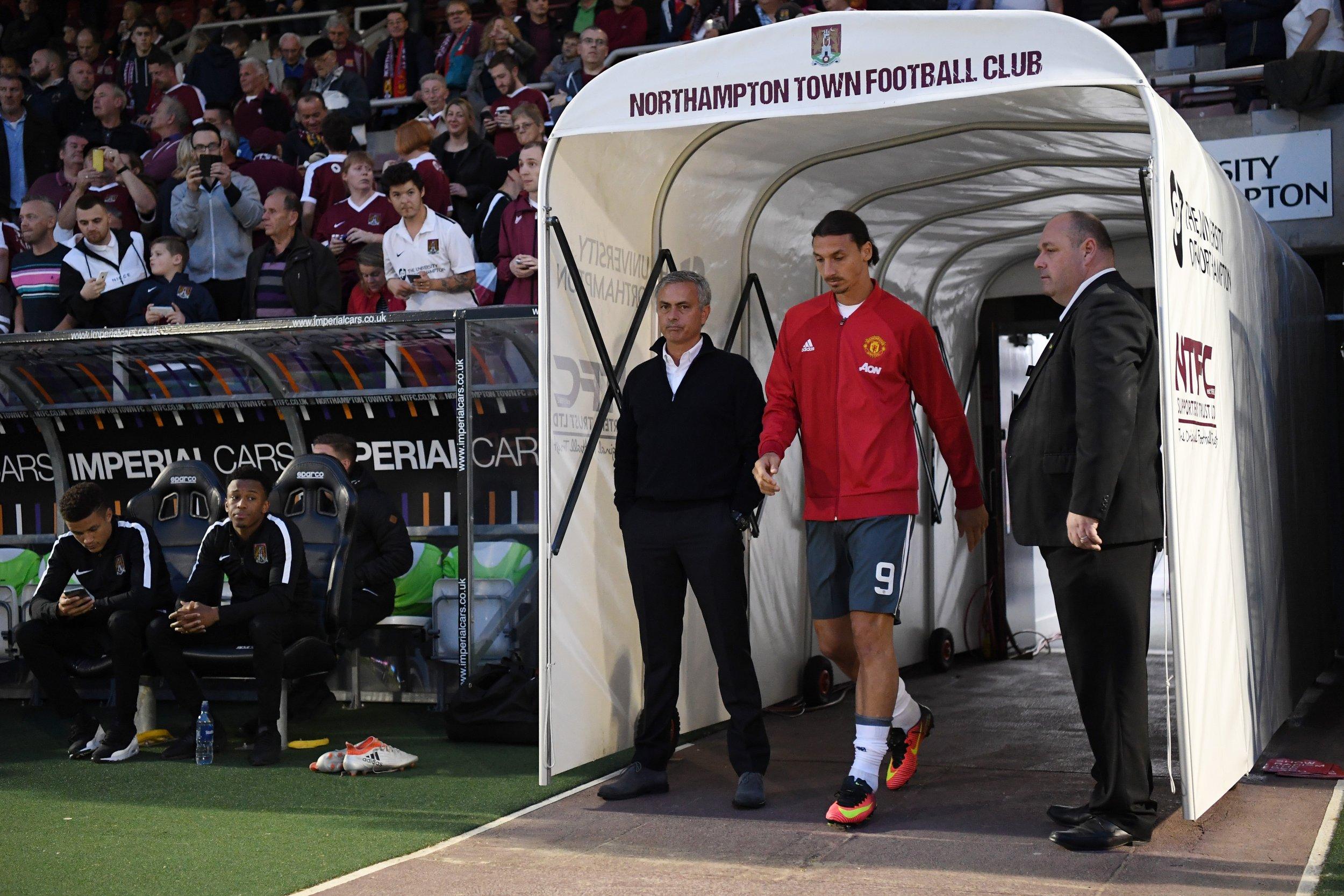 Mourinho and Ibrahimovic