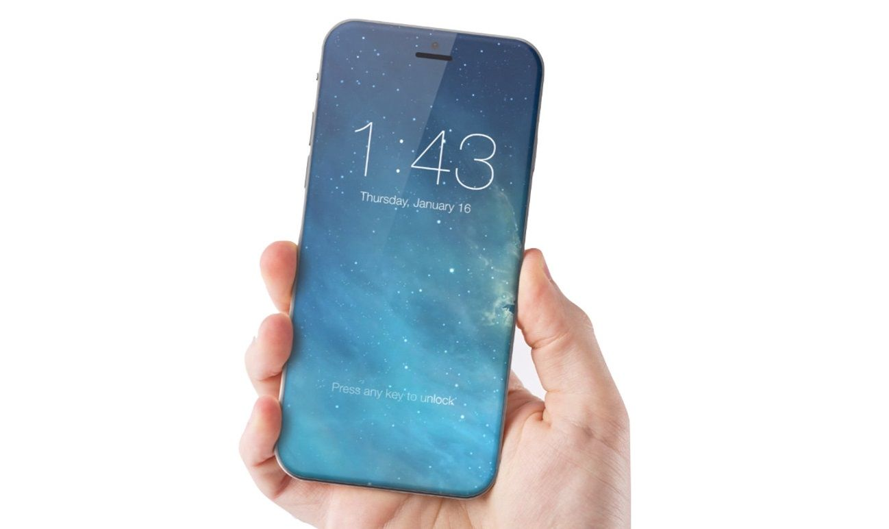 Apple Patent Hints at All-Screen iPhone 8