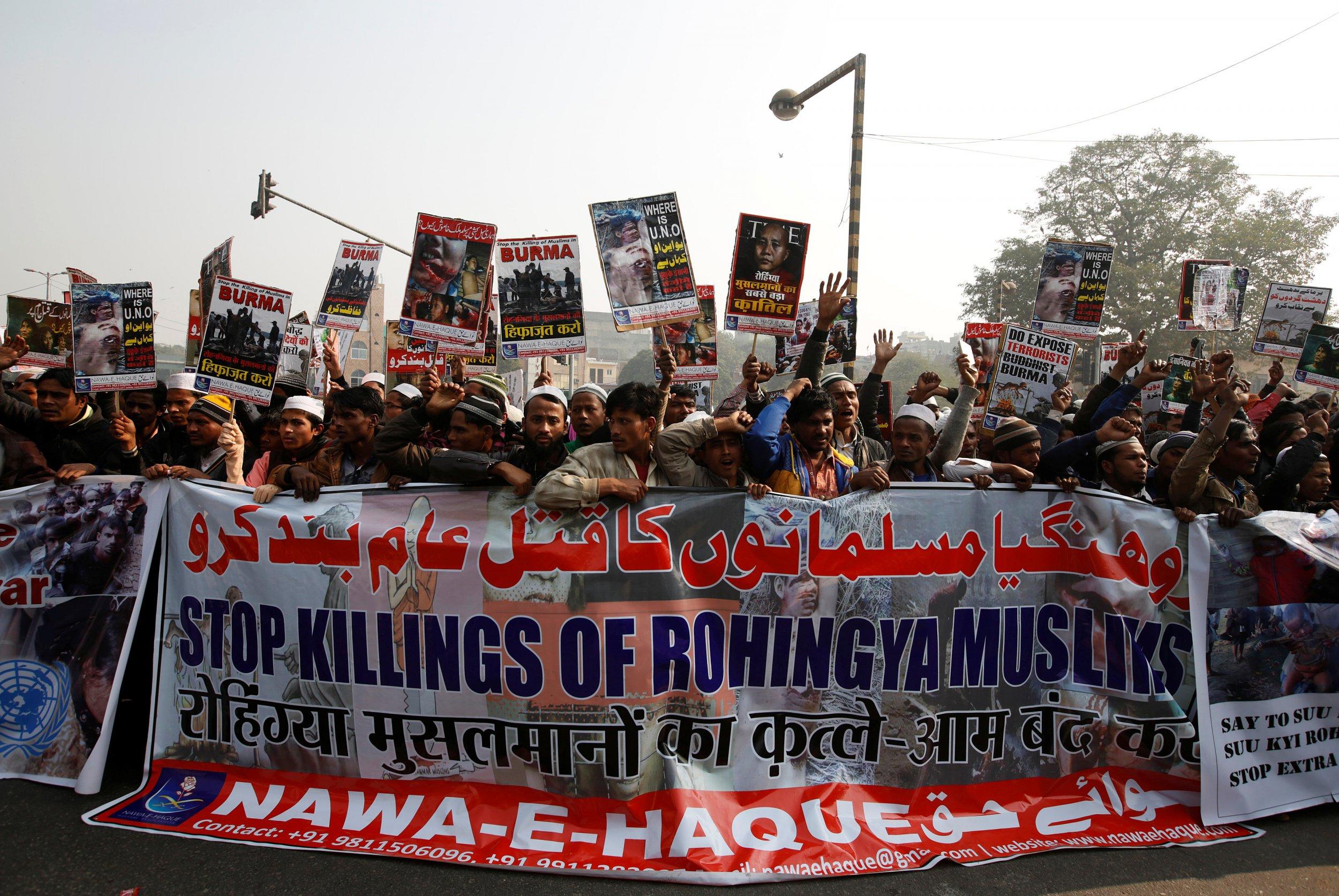 Rohingya Protestors