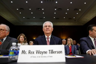 Rex Tillerson secretary of state hearing