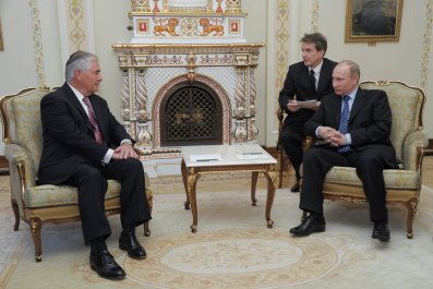 Tillerson Putin