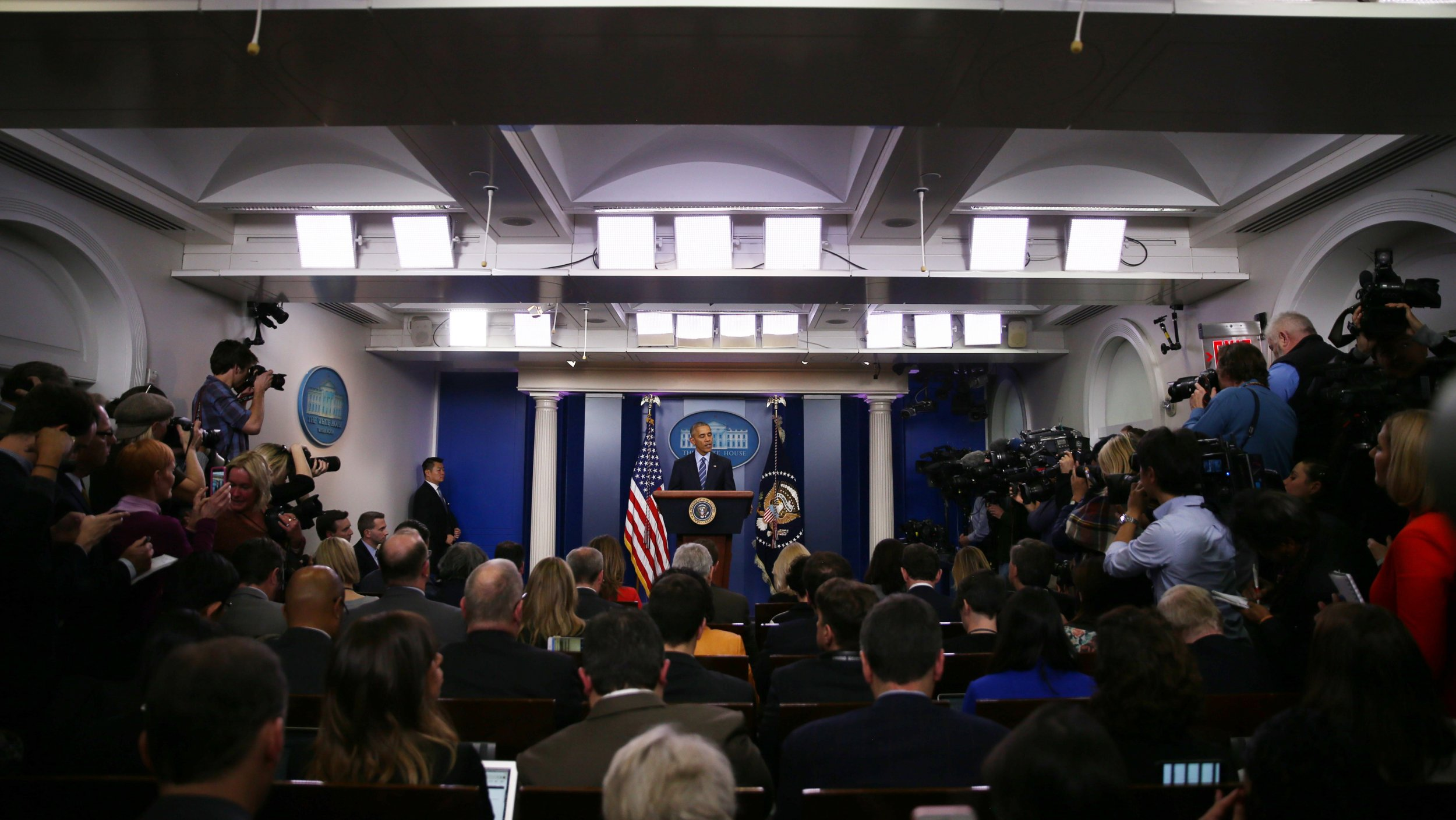 White House To Move Press Briefing Room