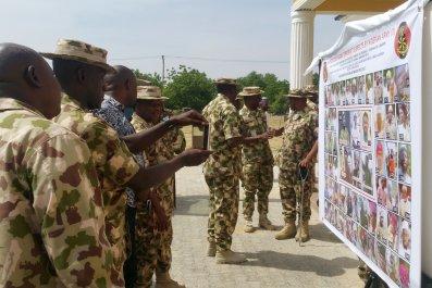 Nigeria soldiers