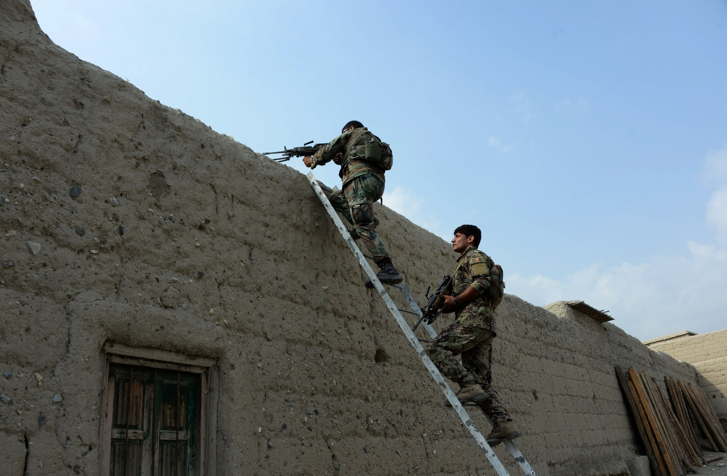 Afghan operation against ISIS