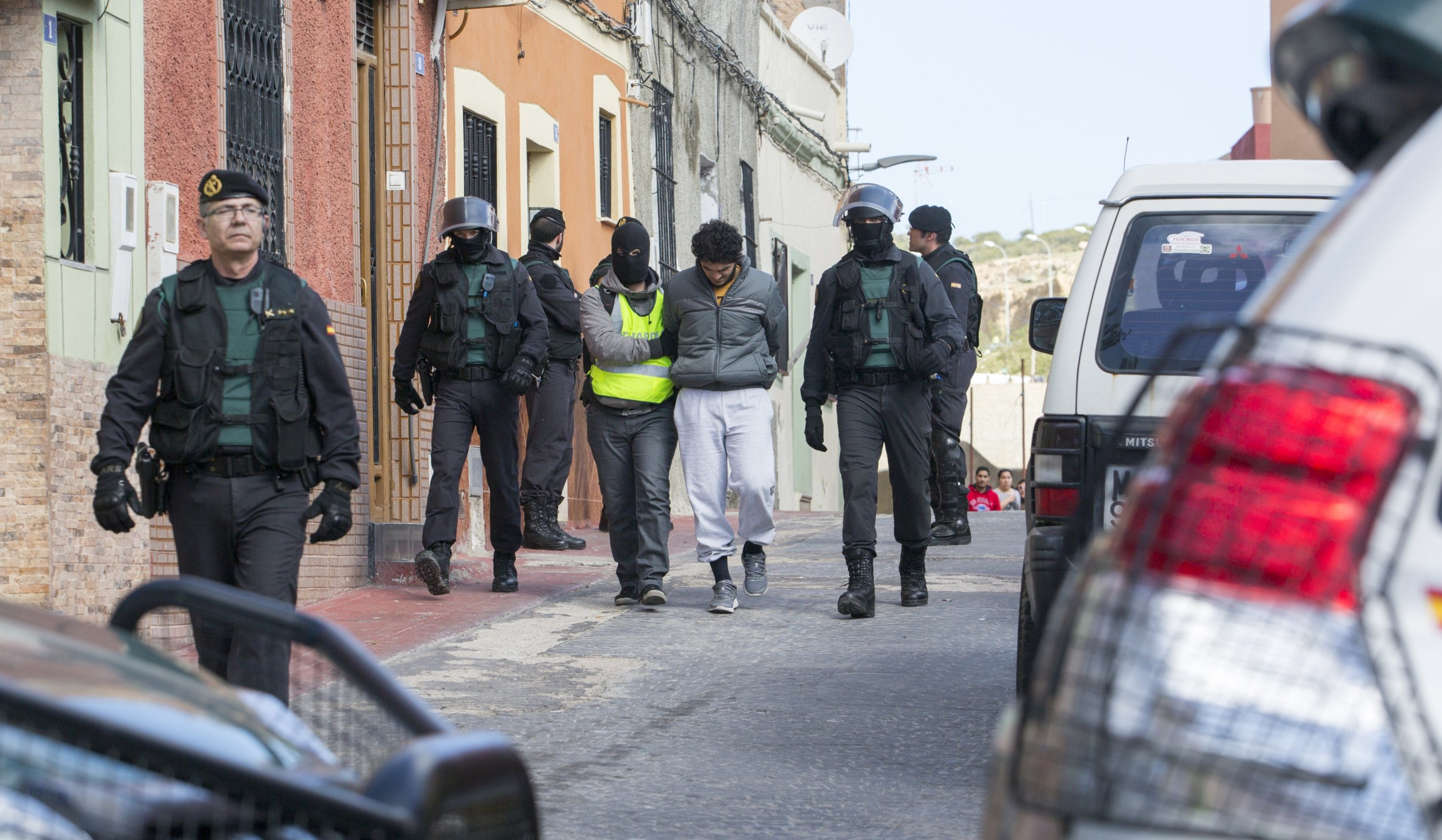 Spain arrests