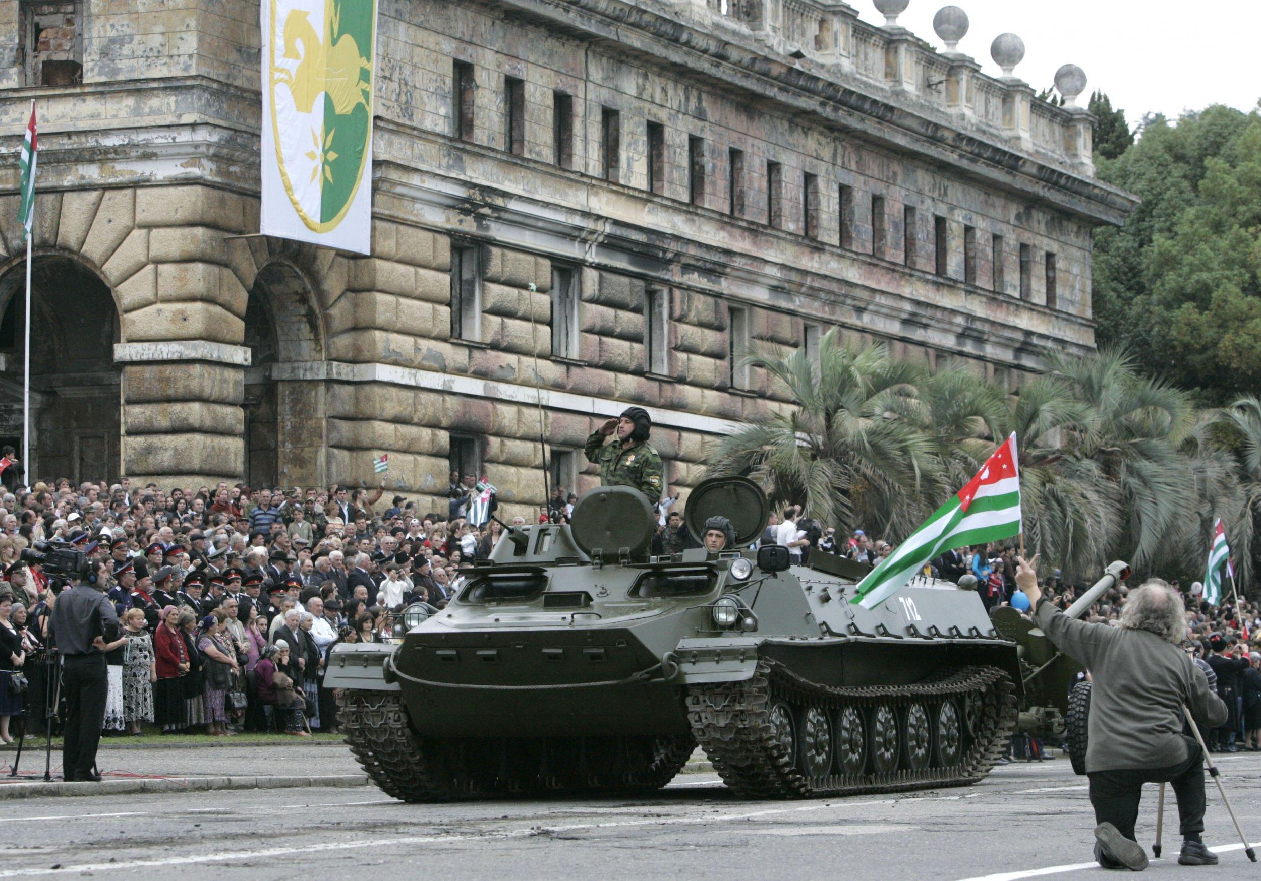 Abkhaz troops
