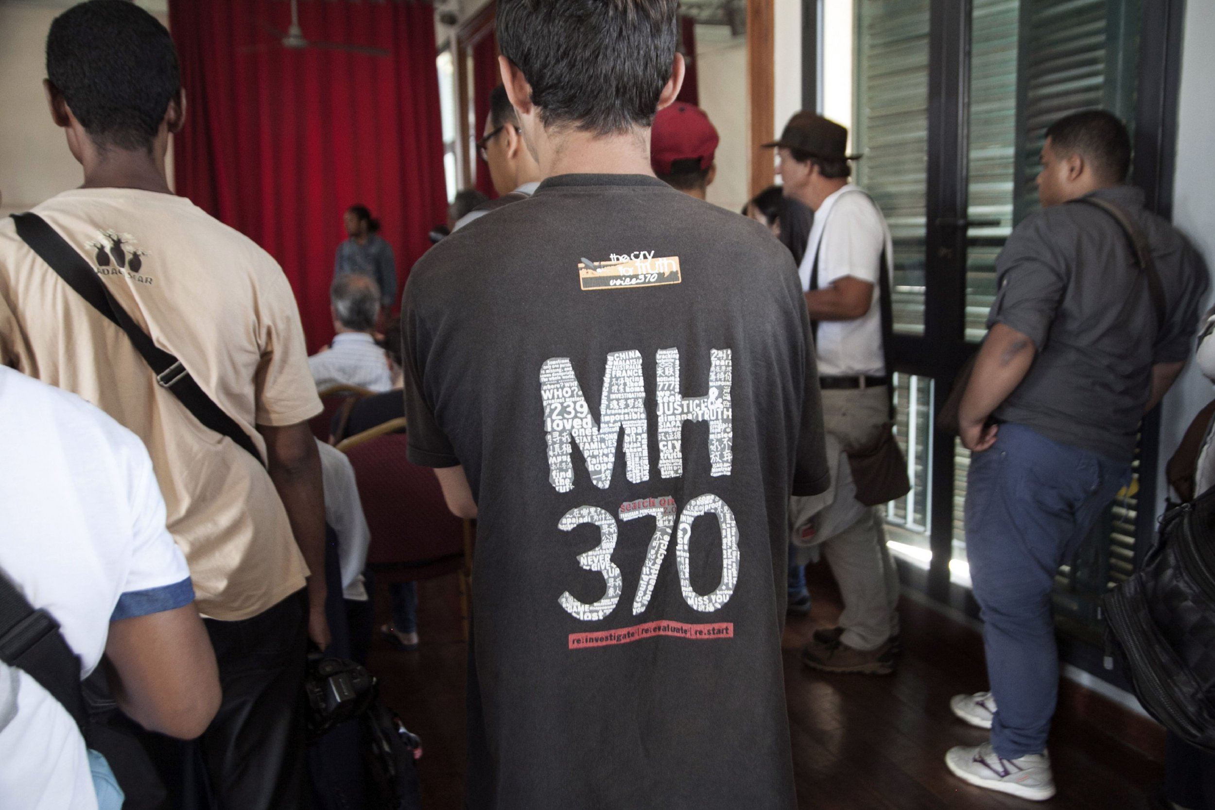 MH370 families press conference