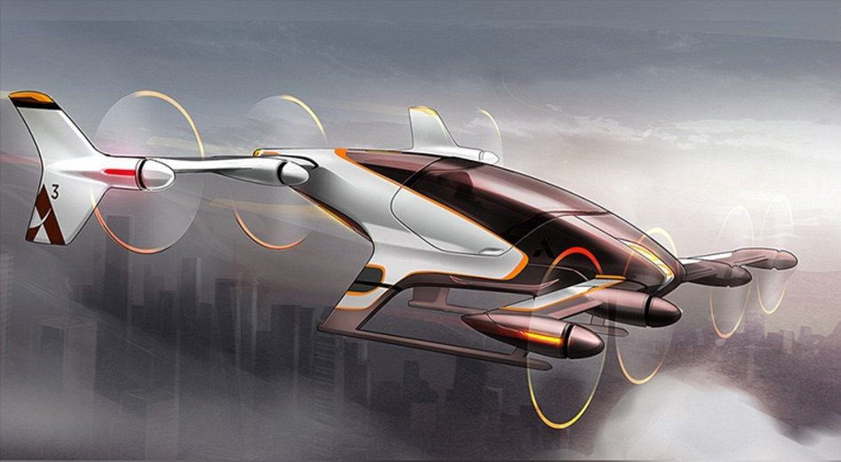 airbus self-flying car uber