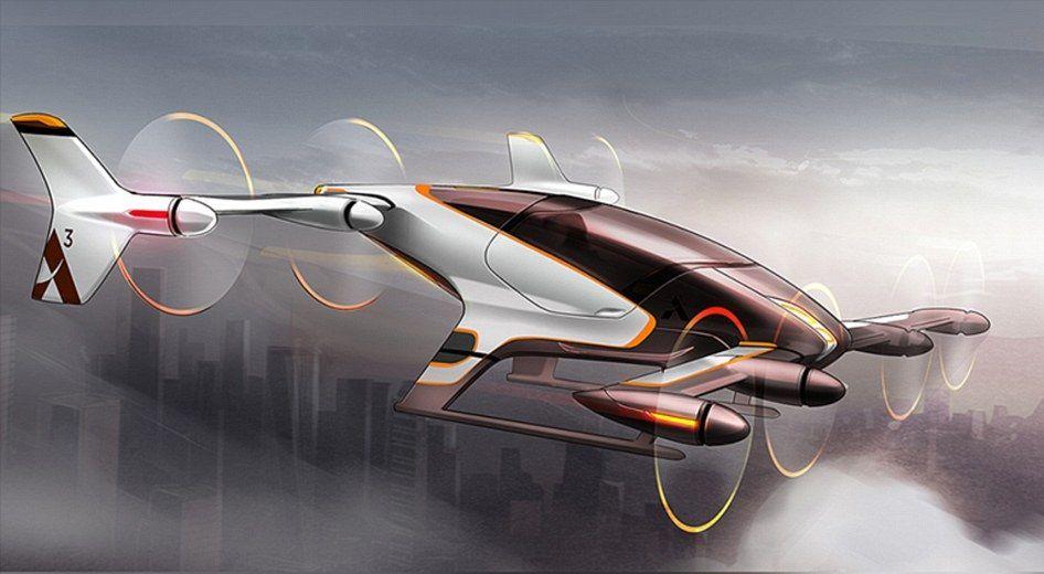 airbus self-flying car uber