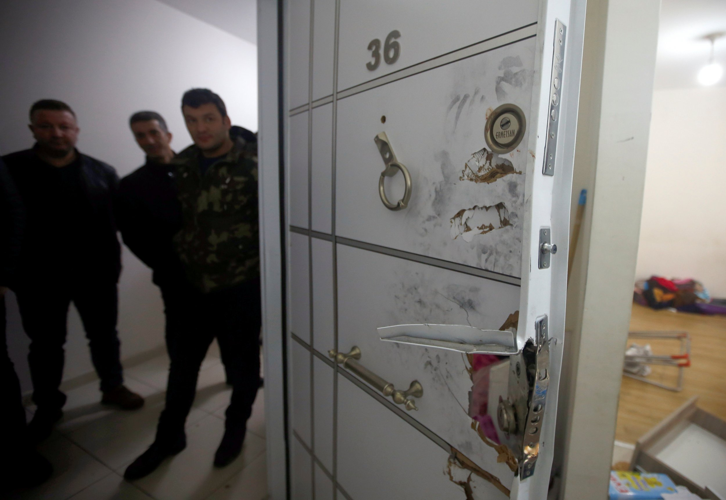 Alleged Istanbul killer's hideout