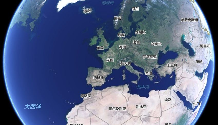 Google Maps Baidu map world