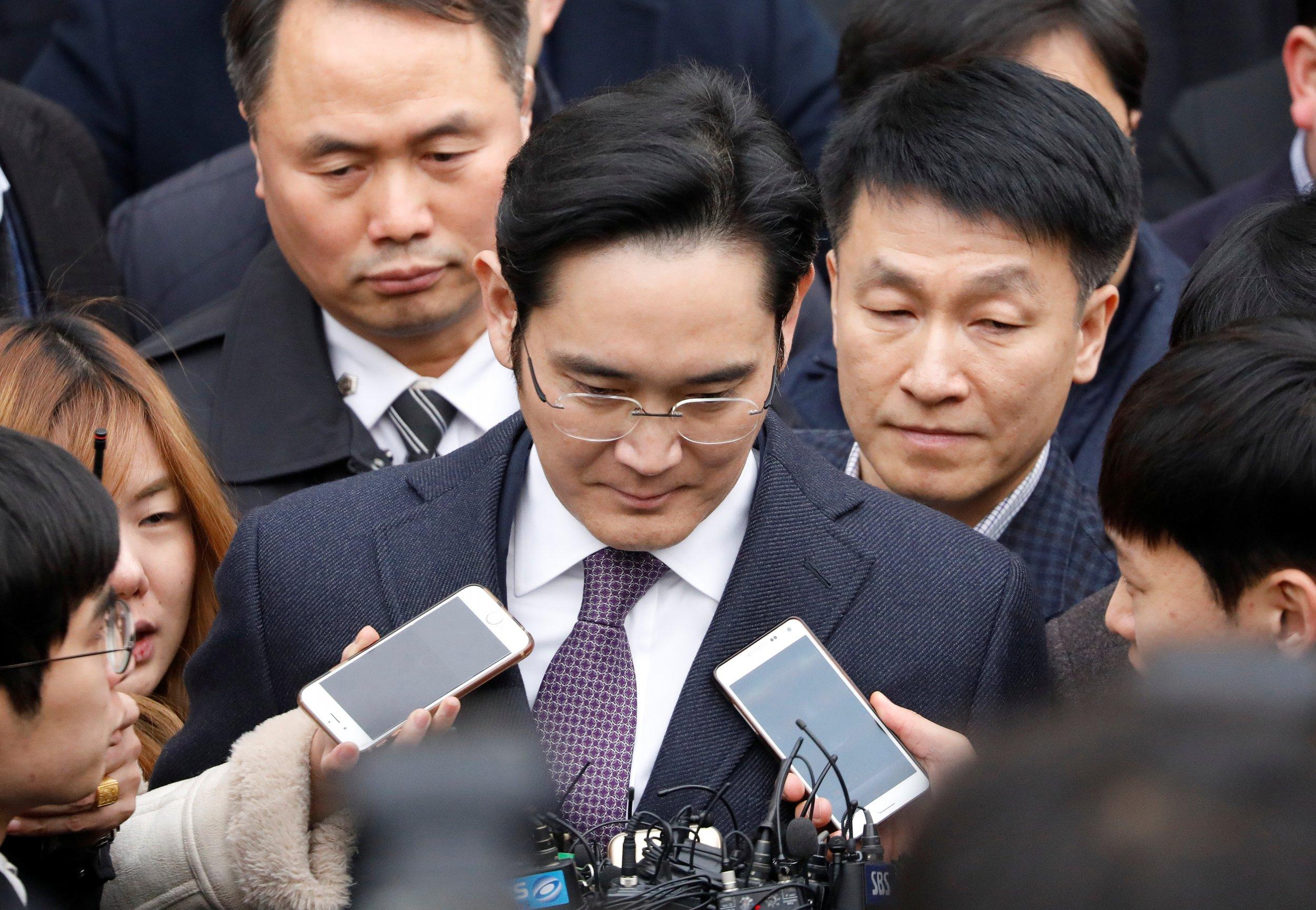 Samsung Group chief executive Jay Y. Lee