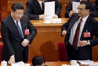 China Xi Jinping and Li Keqiang