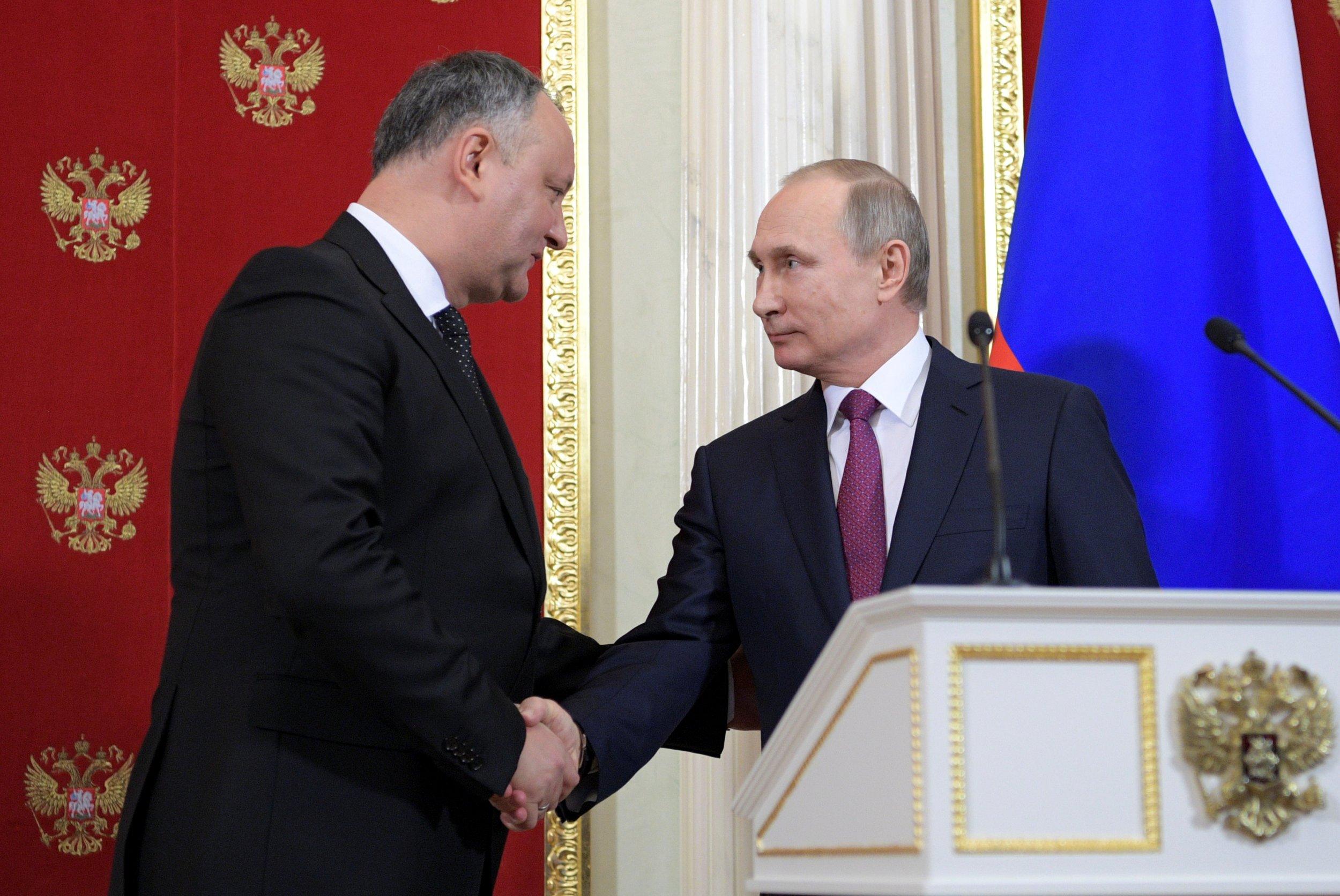 Dodon and Putin