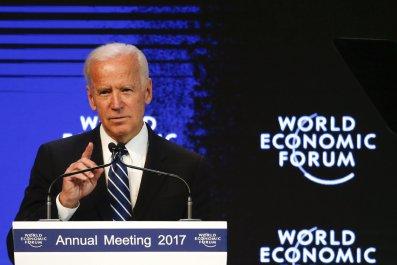 Joe Biden, Davos